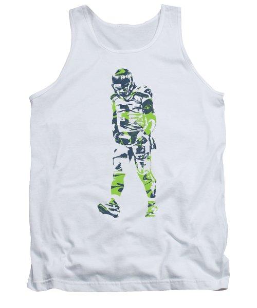 Russell Wilson Seattle Seahawks Pixel Art T Shirt 1 Tank Top