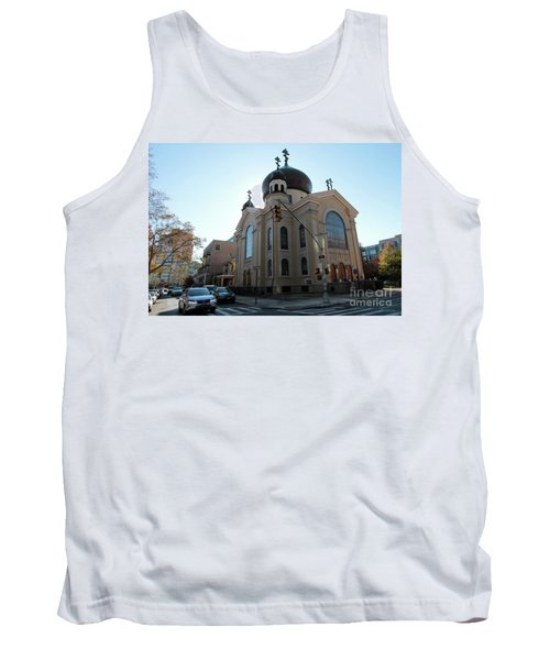 Russian Orthodox Cathedral Of The Transfiguration Of Our Lord Tank Top