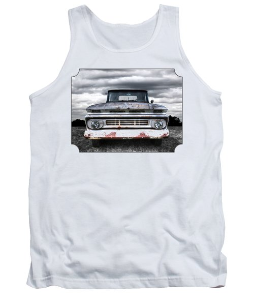 Rust And Proud - 62 Chevy Fleetside Tank Top by Gill Billington