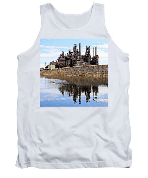 Rusted Relection Tank Top