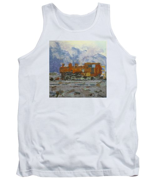 Rusty Loco Tank Top by David Gilmore