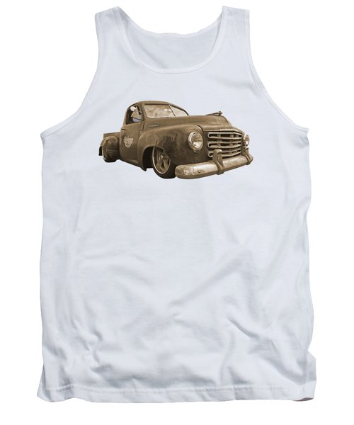 Rusty Studebaker In Sepia Tank Top