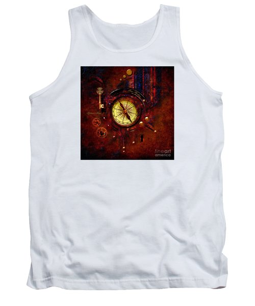 Rusty Time Machine Tank Top