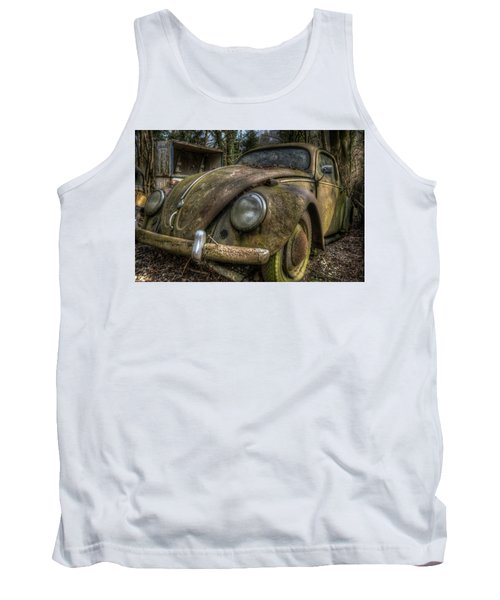 Rusty Vee Dub  Tank Top by Nathan Wright