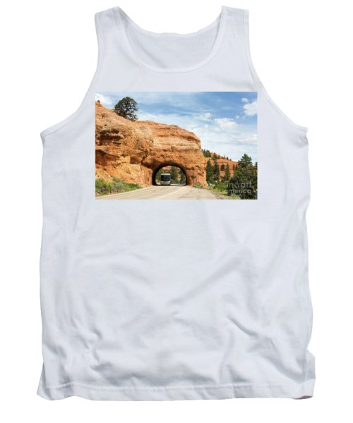 Rv Red Canyon Tunnel Utah Tank Top