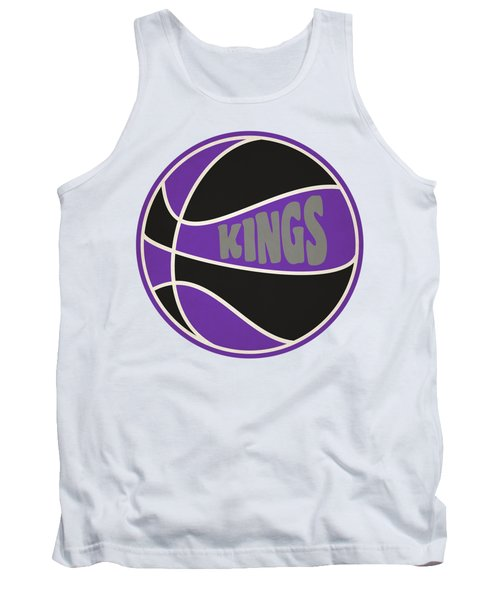 Tank Top featuring the photograph Sacramento Kings Retro Shirt by Joe Hamilton