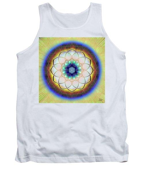 Sacred Geometry 723 Tank Top