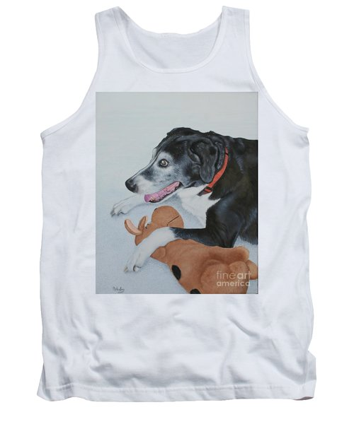 Tank Top featuring the painting Sadie by Mike Ivey