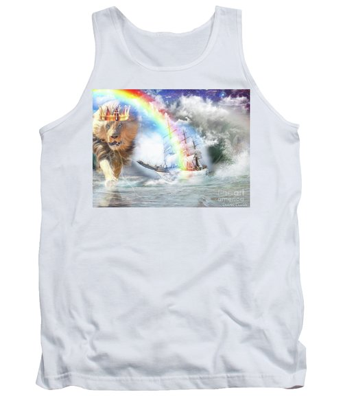Tank Top featuring the digital art Safe Harbor  by Dolores Develde