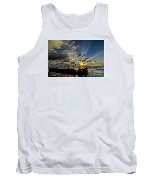 Tank Top featuring the photograph Safe Shore 03 by Arik Baltinester