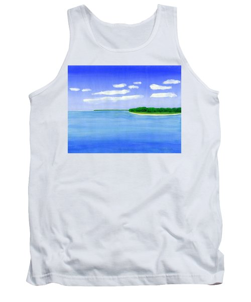 Sag Harbor, Long Island Tank Top by Dick Sauer