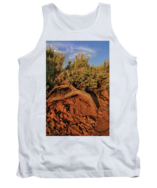 Sagebrush At Sunset Tank Top