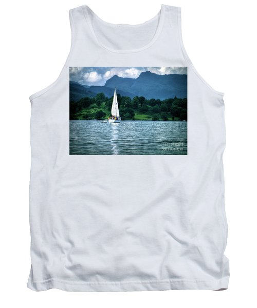 Sailing The Lakes Tank Top