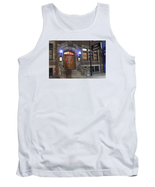 Tank Top featuring the photograph Saint Andrew's Music Hall by Michael Rucker
