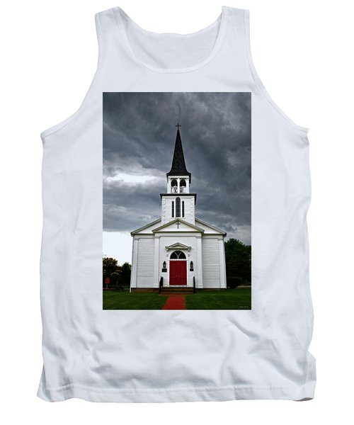 Tank Top featuring the photograph Saint James Episcopal Church 002 by George Bostian