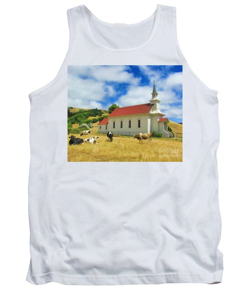 St. Mary's Visitors Tank Top
