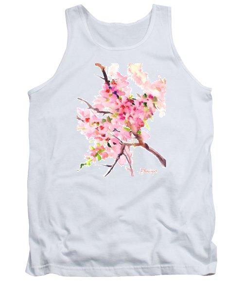 Sakura Cherry Blossom Tank Top