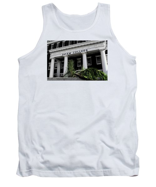 Tank Top featuring the photograph Salem College by Jessica Brawley