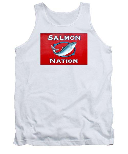 Salmon Nation Tank Top