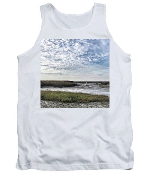 Salt Marsh And Creek, Brancaster Tank Top