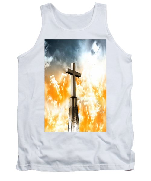 Tank Top featuring the photograph Salvation  by Aaron Berg
