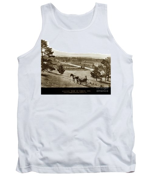 Samuel J. Duckworth Pauses To Look Upon What Would Become Carmel 1890 Tank Top