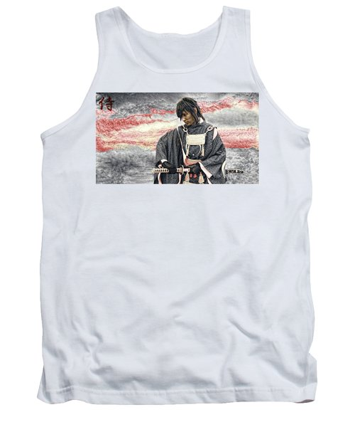 Samurai Warrior Tank Top