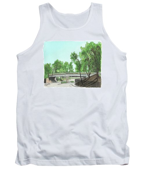San Diego Recruit Depot Welcome Tank Top