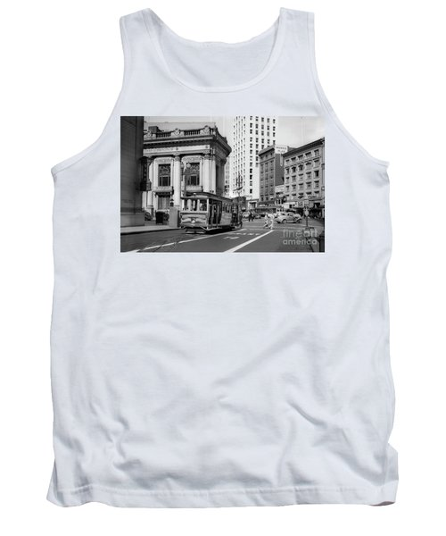 San Francisco Cable Car During Wwii Tank Top
