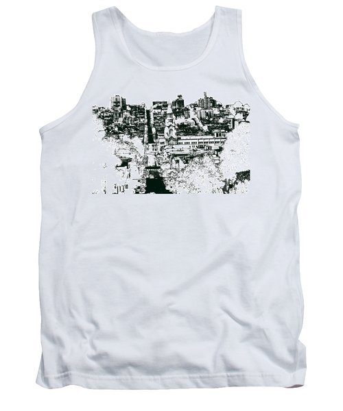 San Francisco North Beach - Ink Tank Top