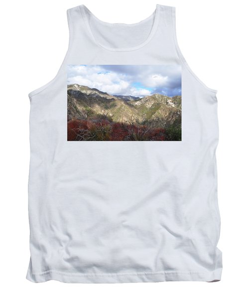 Tank Top featuring the photograph San Gabriel Mountains National Monument by Kyle Hanson