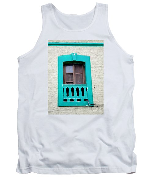 San Jose Del Cabo Window 12 Tank Top by Randall Weidner