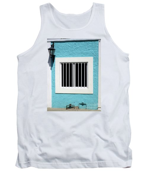 San Jose Del Cabo Window 9 Tank Top by Randall Weidner