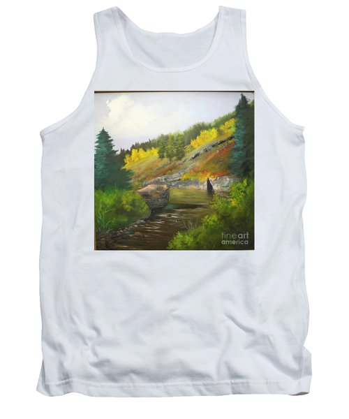 Tank Top featuring the painting San Juan River by Barbara Haviland