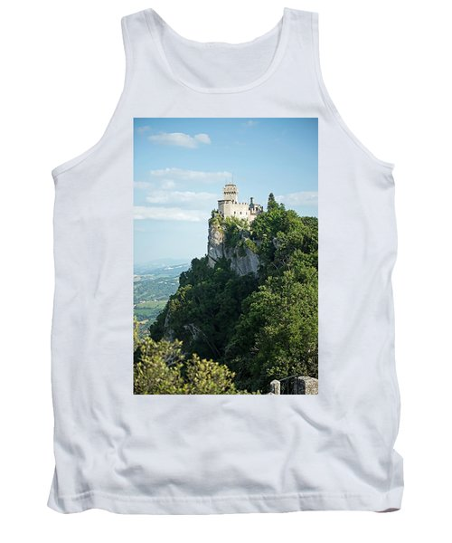 Tank Top featuring the photograph San Marino - Guaita Castle Fortress by Joseph Hendrix