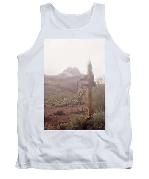 Tank Top featuring the photograph Sancuatary Cove Fog by Donna Greene