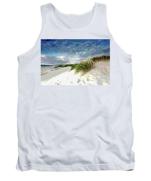 Sand And Surfing Tank Top
