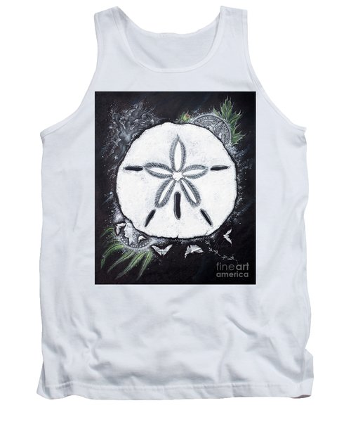 Sand Dollars Tank Top by Scott and Dixie Wiley