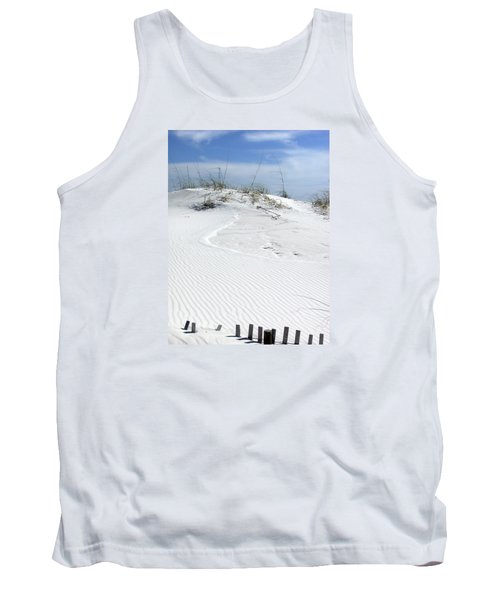 Tank Top featuring the photograph Sand Dunes Dream 2 by Marie Hicks