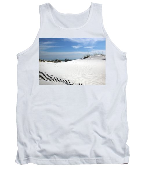Tank Top featuring the photograph Sand Dunes Dream by Marie Hicks