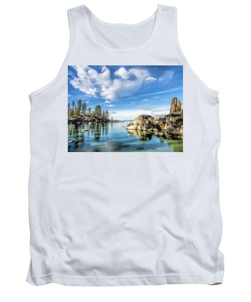 Sand Harbor Morning Tank Top