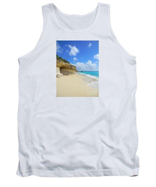 Sand Sea And Sky Tank Top by Expressionistart studio Priscilla Batzell
