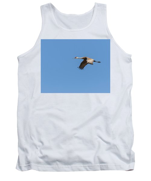 Tank Top featuring the photograph Sandhill Crane 2017-1 by Thomas Young