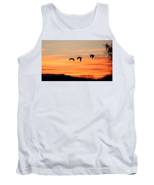 Sandhill Sunrise 2 Tank Top