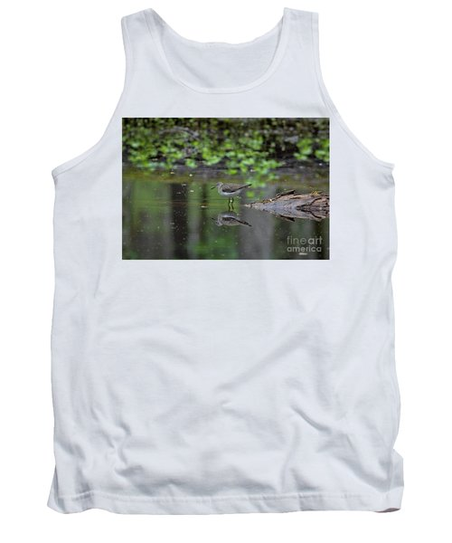 Tank Top featuring the photograph Sandpiper In The Smokies II by Douglas Stucky