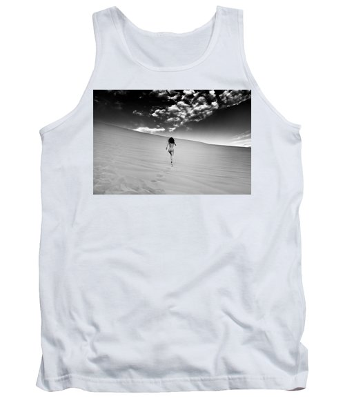 Sandy Dune Nude - Catching The Clouds Tank Top