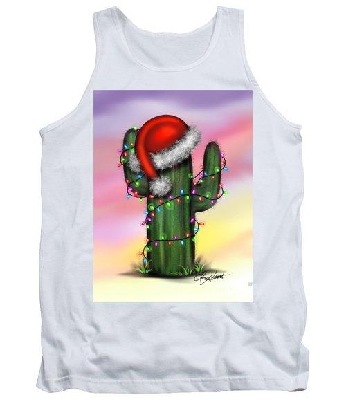 Santa Cactus Tank Top