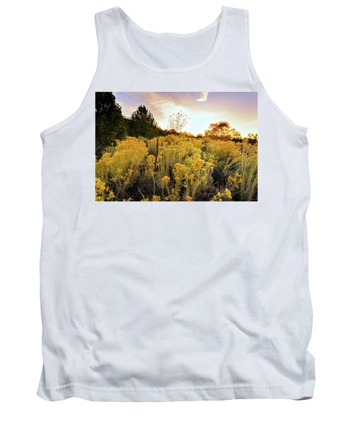 Tank Top featuring the photograph Santa Fe Magic by Stephen Anderson