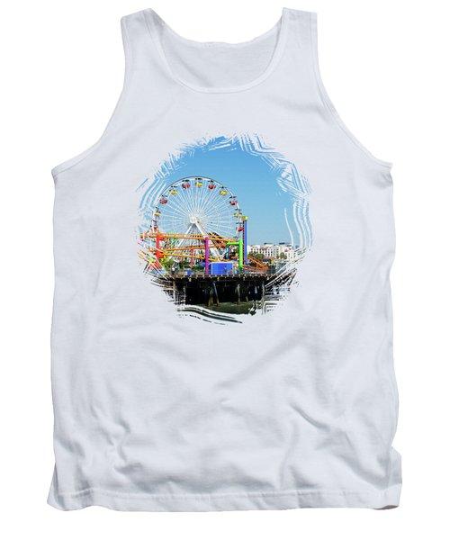 Santa Monica Ferris Wheel Tank Top