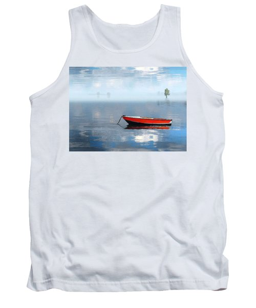 Santee Lakes Serenity Tank Top by Deborah Smith